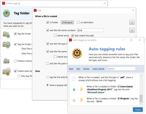 Markiere vertrauliche Dateien lokal oder im Netzwerk automatisch