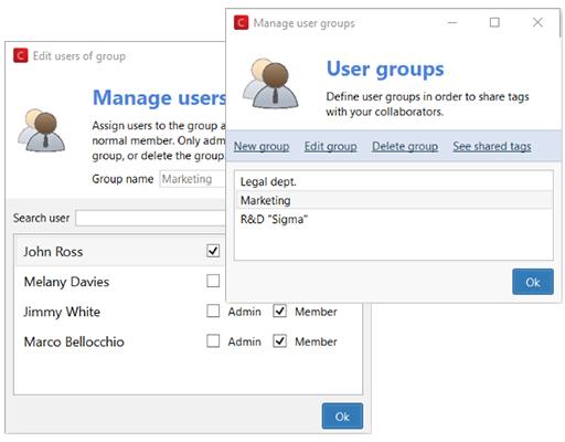 Markiere vertrauliche Dateien für dein Team