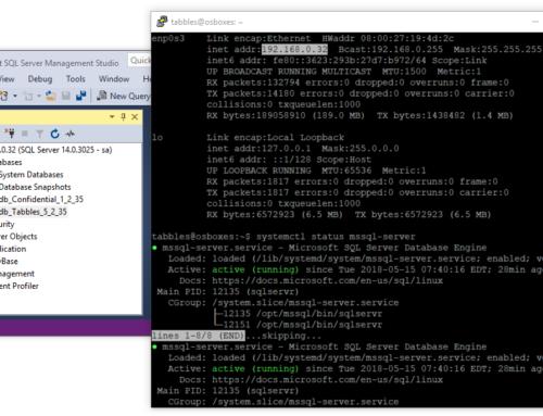 Run Confidential Database Server on Linux