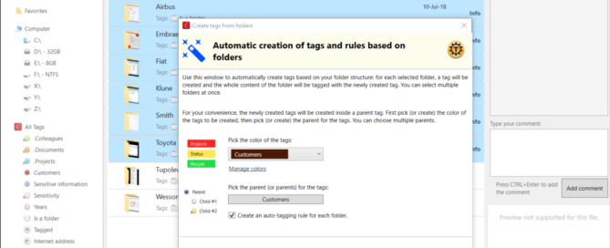AutoCreate tags